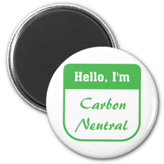 I'm carbon neutral magnet