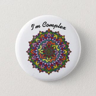 I'm Complex Kaleidoscope #11 Button