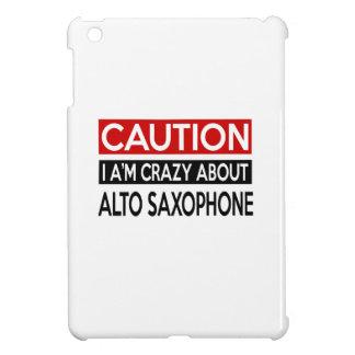 I'M CRAZY ABOUT ALTO SAXOPHONE iPad MINI CASE