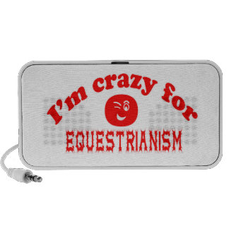 I'm crazy for Equestrianism. iPod Speaker