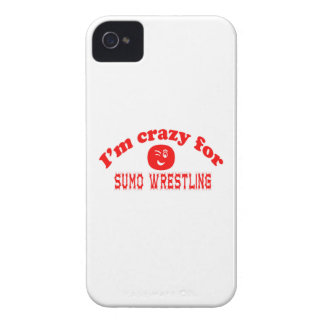 I'm crazy for Sumo Wrestling. iPhone 4 Covers