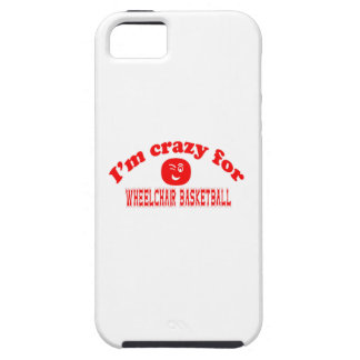 I'm crazy for Wheelchair basketball. iPhone 5 Cover