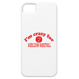I'm crazy for Wheelchair basketball. iPhone 5 Covers