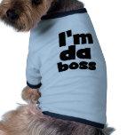 I'm Da Boss Dog Tshirt