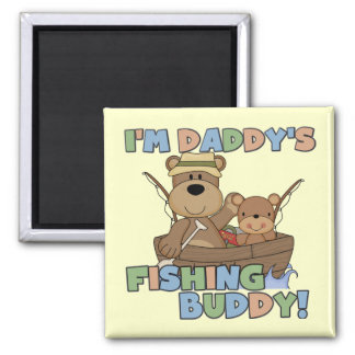 I'm Daddy's Fishing Buddy T-shirts and Gifts Refrigerator Magnet