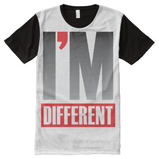 I'm Different All-Over Print T-Shirt