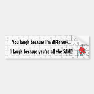 I'm Different Bumper Sticker
