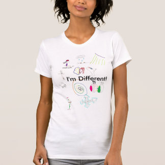 I'm Different! (female) Tees