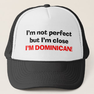 I'M DOMINICAN TRUCKER HAT