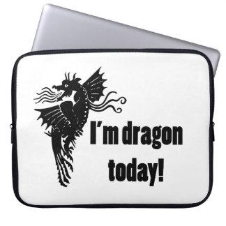 I'm Dragon Today Laptop Sleeve