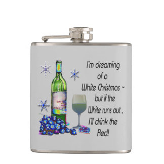 I'm dreaming of a white Christmas, fun Flask