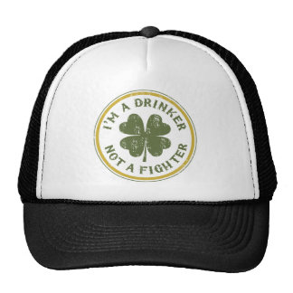 IM DRINKER NOT A FIGHTER MESH HAT