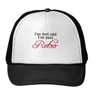 I'm emergency old, just retro mesh hat
