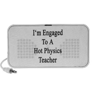 I'm Engaged To A Hot Physics Teacher Portable Speakers