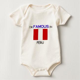 I'm Famous In PERU Baby Bodysuit