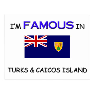 I'm Famous In TURKS & CAICOS ISLAND Post Card