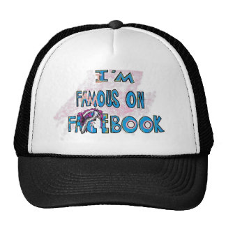 I'm Famouse on Facebook Scene Bunny Shirts & stuff Cap