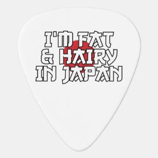 I'M FAT & HAIRY IN JAPAN PLECTRUM
