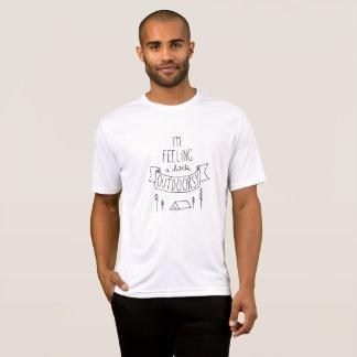 I'm Feeling a Little Outdoorsy Men's T-Shirt