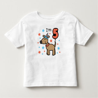 I'm Five Doggie Tee Shirts