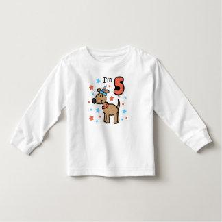 I'm Five Doggie Tshirts