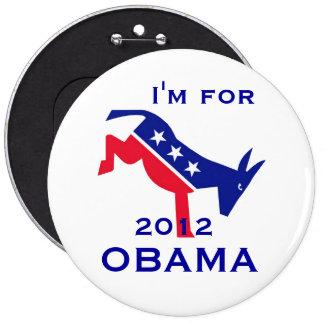 I'm for OBAMA button