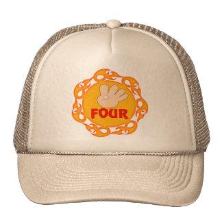 I'm Four 4th Birthday Gifts Cap