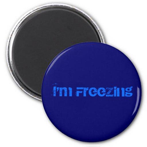 I'm Freezing Magnet