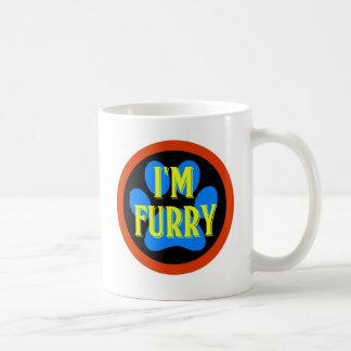 I'm Furry Basic White Mug