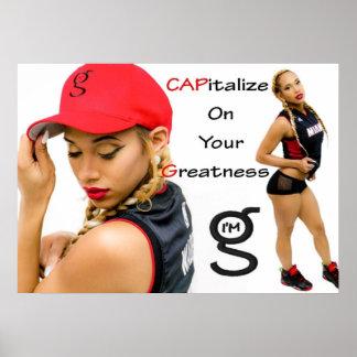 I'm G Caps Poster