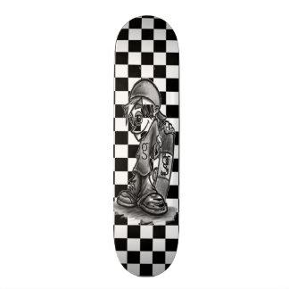 I'm G Skater Boy Checkered Skateboard