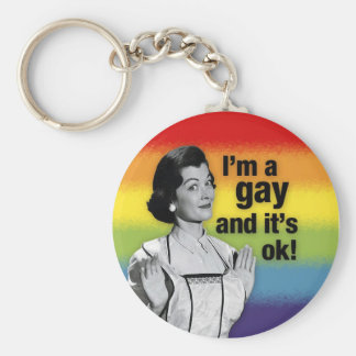 I'm GAY - Keychain