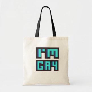 'I'm Gay' LGBT tote bag