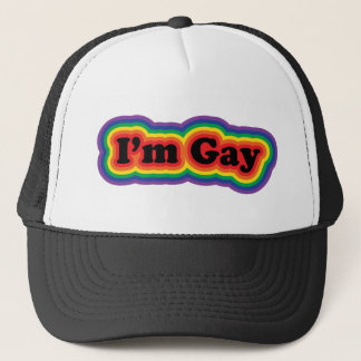 I'm Gay Trucker Hat