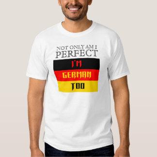 I'm German Too Shirts