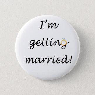 'I'm getting married!' Standard Badge