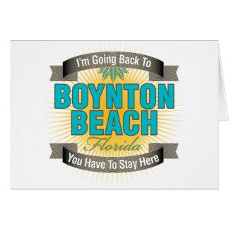 I'm Going Back To (Boynton Beach) Cards