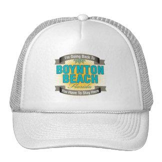 I'm Going Back To (Boynton Beach) Mesh Hats