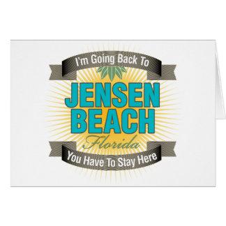 I'm Going Back To (Jensen Beach) Card