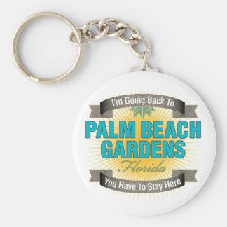 I'm Going Back To (Palm Beach Gardens) Key Chain