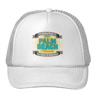 I'm Going Back To (Palm Beach) Mesh Hat