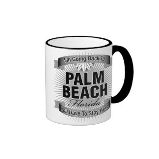 I'm Going Back To (Palm Beach) Mug