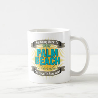 I'm Going Back To (Palm Beach) Mugs