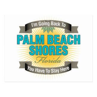 I'm Going Back To (Palm Beach Shores) Postcard
