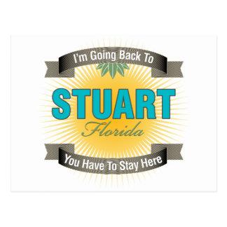 I'm Going Back To (Stuart) Post Card