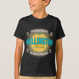I'm Going Back To (Wellington) T-Shirt