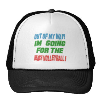 I'm going for the Beach Volleyball. Mesh Hats