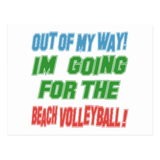 I'm going for the Beach Volleyball. Post Card