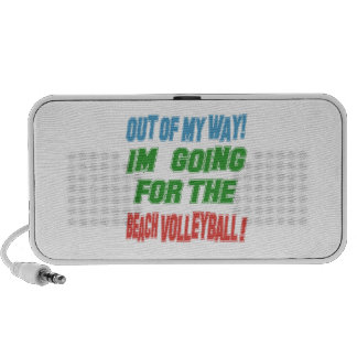 I'm going for the Beach Volleyball. Mp3 Speaker