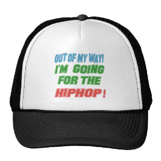 I'm going for the Hip Hop. Mesh Hats